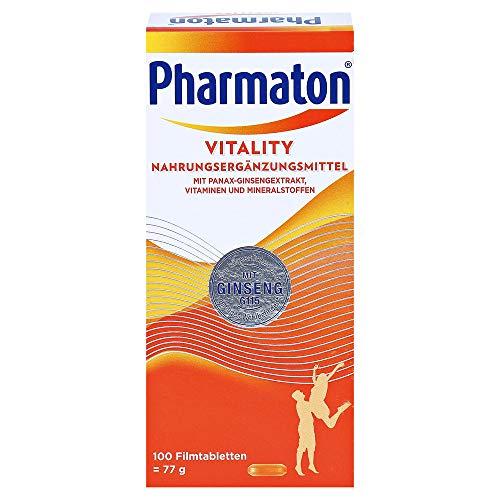 Pharmaton Vitality Filmtabletten, 100 St