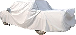 """MIMIDI Waterproof Pickup Truck Cover All Weather Protection Scratch Resistant Full Cover for Cars with Adjustable Buckle Straps 246"""" Gray"""