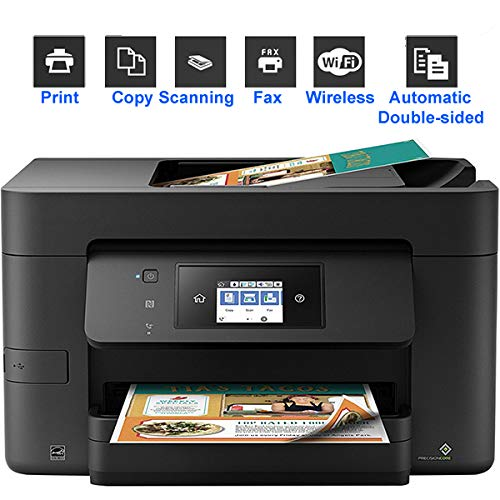 Review TANCEQI All-in-One Color Inkjet Printer, Print/Copy/Scan/Fax, Wireless WiFi Smart Mobile NFC ...