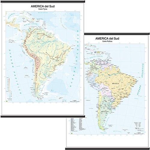 America Politica Cartina.Cartina Politica America Del Sud Migliori Offerte 2021