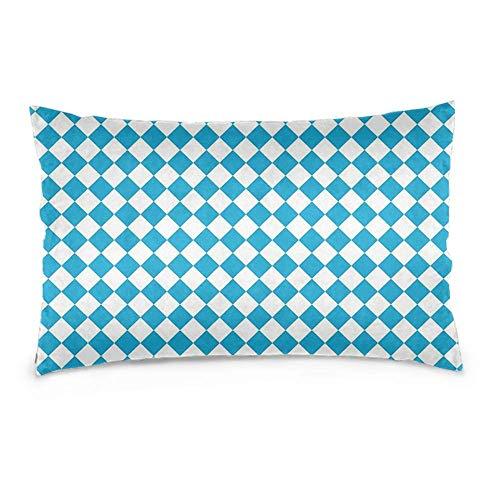 YudoHong Fundas de cojín, fundas de almohada para sofá, decoración del hogar, Oktoberfest, diseño de cerveza azul
