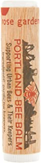 Portland Bee Balm All Natural Handmade Beeswax Based Lip Balm, Rose Garden Single Tube