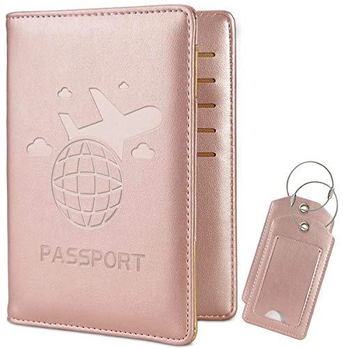 COCASE protège Passeport Housse, RFID Blocage Voyage...