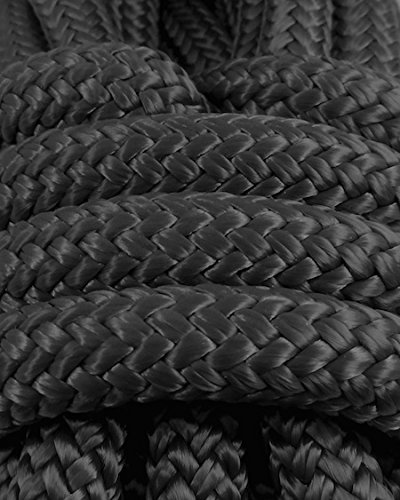 Miami Cordage 7/16 in X 600 ft Black Polyester Double Braided Rope