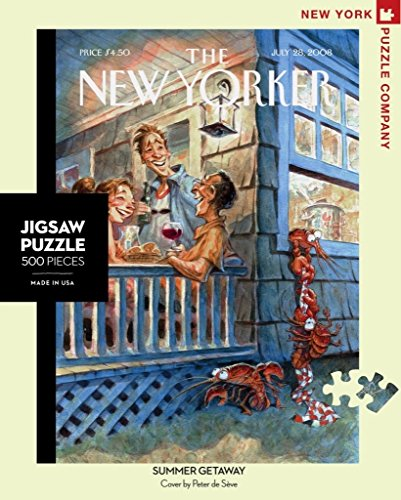 New York Puzzle Company - New Yorker Summer Getaway - 500 Piece Jigsaw Puzzle
