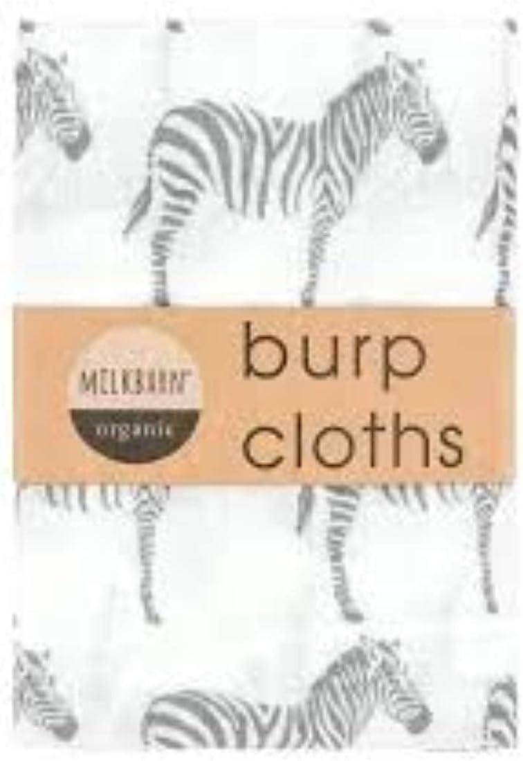 2 pack Milkbarn Organic Cotton Burp Cloths Bibs & Burp Cloths Baby ...
