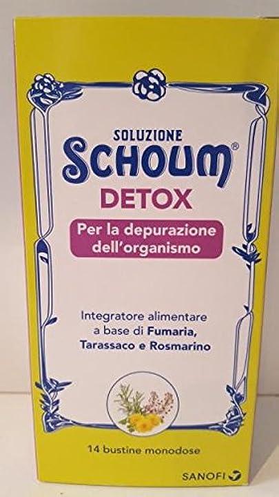 Soluzione schoum detox 14 bustine 935923526