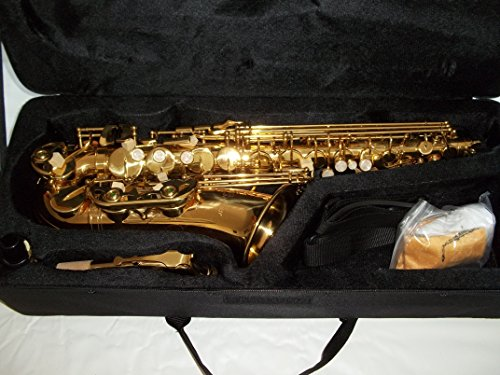 Sassofono contralto in mi bemolle / rifinitura dorata