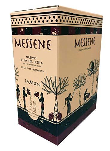 """5 Liter Bio - Natives Olivenöl Extra, handgepflückt, sortenrein und \""""Single-Field\"""" Abfüllung in umweltfreundlicher Verpackung mit Ausgießer"""