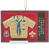 Kurt Adler 2.5' Eagle Scout Shadow Ornament