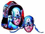 Marvel Avengers 337-24054 - Zainetto con Maschera Avengers Capitan America