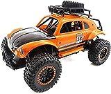 WGFGXQ 1/14 RC Car, 4x4 Crawlers Coche de Control Remoto para niños Vehículo Todoterreno 2.4G Camioneta Pickup Coche de Alta Velocidad Juguete electrónico Grande para Hobby Control Remoto Modelo de