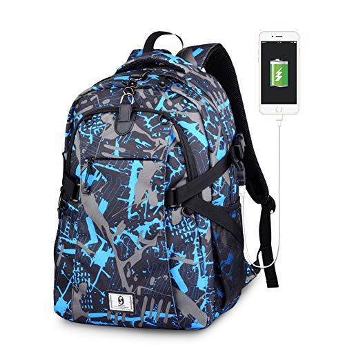 Backpack Multiple Ball Pocket Storage Mesh Carry Strap Oxford Cloth Sports Large Bag Lightweight College Laptop Compartment Best Gym Detachable Unisex,C