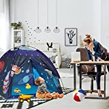 Kids Play Tent Indoor , Ai-Uchoice Toddler Tent for Kids Indoor Games Imaginative Play Tent -The Observatory Universe Space Sturdy Kid Play Tent for Boys and Girls (Space)