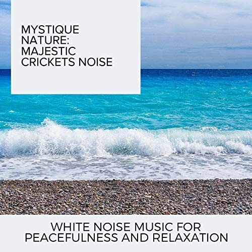 Mystique Nature: Majestic Crickets Noise - White Noise Music for Peacefulness and Relaxation