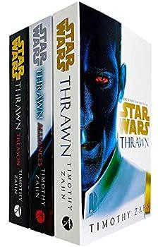 Star Wars  Thrawn Series Books 1 - 3 Collection Set by Timothy Zahn  Thrawn Alliances & Treason
