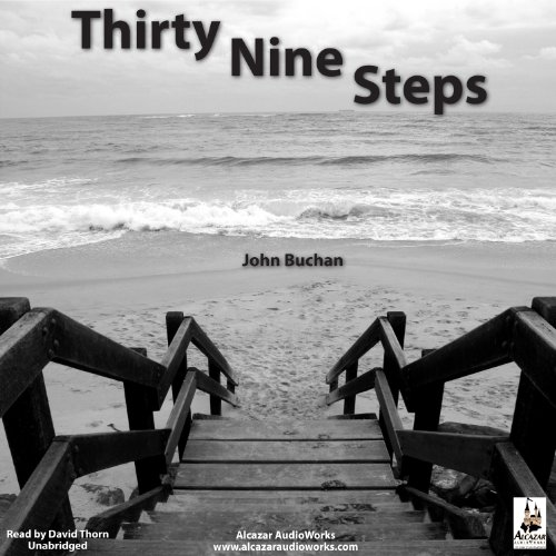 The Thirty-Nine Steps audiobook cover art
