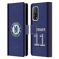 Head Case Designs オフィシャル ライセンス商品 Chelsea Football Club Timo Werner 2020/21 プレイヤーズ・ホームキット グループ1 Xiaomi Mi 10T Pro 5G 専用レザーブックウォレット カバーケース