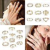 Zoom IMG-2 milacolato 95pcs boho knuckle anelli