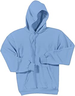 Joe's USA - Hoodies-Pullover Hooded Sweatshirt-Light.Blue-XL