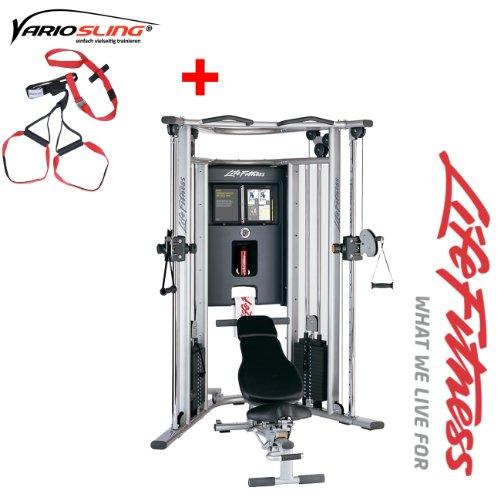 G7 Life Fitness Kraftstation - Modell 2013/ 2014 - inkl. Vario Slingtrainer