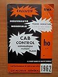 RMA (Réseaux Modélistes Amateurs) 1962 : TRAINS MINIATURES ET DECORS HO ET TT : CAB CONTROL automatique multiple plans catalogue général 1962