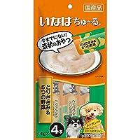 【セット販売】ちゅ~る 犬用 とりささみ&5つの野菜 (14g×4本)×6コ [ちゅーる]