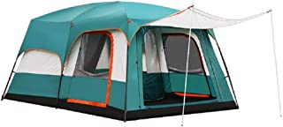 Charhoden SQ-103-L Model: TXZ-0030 Two-bedroom One hall Outdooor Tent - Instant Cabin Tent Green - Green, X-Large