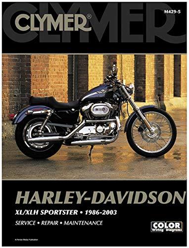 Clymer Harley-Davidson XL/XLH Sportster (1986-2003) (53151)