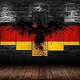 Bilder Deutschland Flagge Deutscher Adler Poster Wandbild