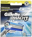 Gillette Mach3 Turbo Cuchillas de afeitar para hombre