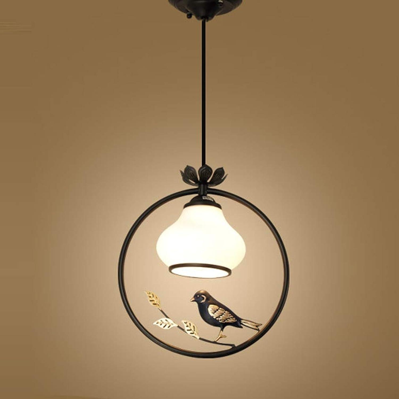 Modern Tischleuchte Einfache Stil Pendelleuchte Vogel Hngeleuchte Persnlichkeit Glass Lampengehuse Esstisch Licht Arbeitszimmer Restaurant Bartheke Kreative Lampe Kronleuchter E27, Einzelner Kopf