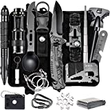 Gifts for Men Dad, Survival Gear and Equipment 16 in 1, Fishing Hunting Christmas Birthday Gifts Ideas for Him Husband Boyfriend Teen Boy, Cool Gadget Stocking Stuffer, Survival Kit Emergency Camping