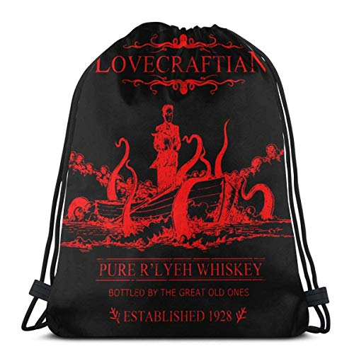 Bolsas con Cordón The Horror Within Cthulhu Favor Bags Durable Drawstring Bag Wrapping Gift Bag Women Unique...