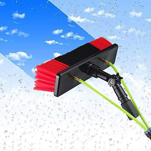 Solar-wash Spazzolone Per Fotovoltaico, Kit Spazzola Per Vetri, Spazzola Finestra E Pannello Solare Di Pulizia Di Windows Pulizia & Strumento Di Lavaggio (Quattro Dimensioni) / 5m