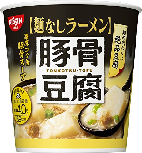 日清 麺なしラーメン 豚骨豆腐スープ 24g×6個
