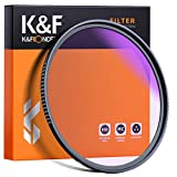 K&F Concept 77mm Clear-Night Filter Multiple Layer Nano Coating Pollution Reduction for Night Sky/Star