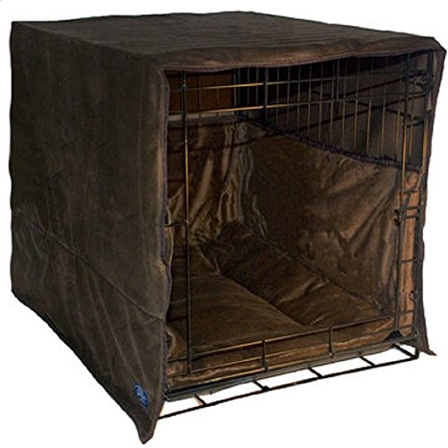 Pet Dreams The Original Crate Cover, Crate PAD and Bumper JUST GOT Better! New Double Door 3 Piece...
