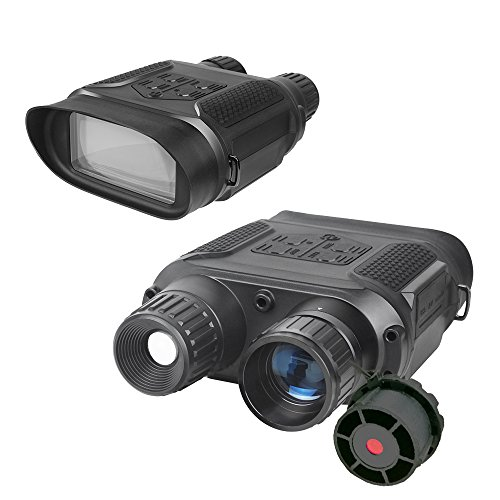 Bestguarder NV-800 7X31mm Digital Night Vision Binocular with 2 inch TFT LCD and Camera & Camcorder Function Takes Photo & Video from 400m/1300ft