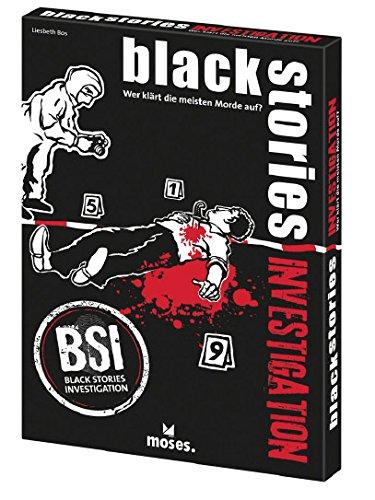 Gen X Games- Party Game Black Stories Investigación, Multicolor (GXG200417)