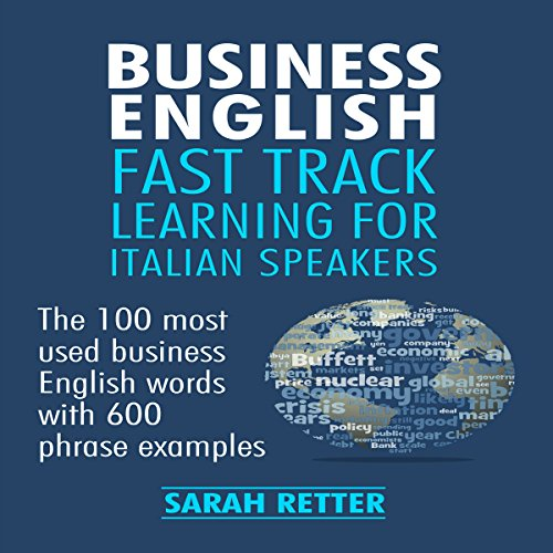 Business English audiobook cover art