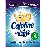 Cajoline Intense Sachet d'Armoire Tourbillon de Fraîcheur...