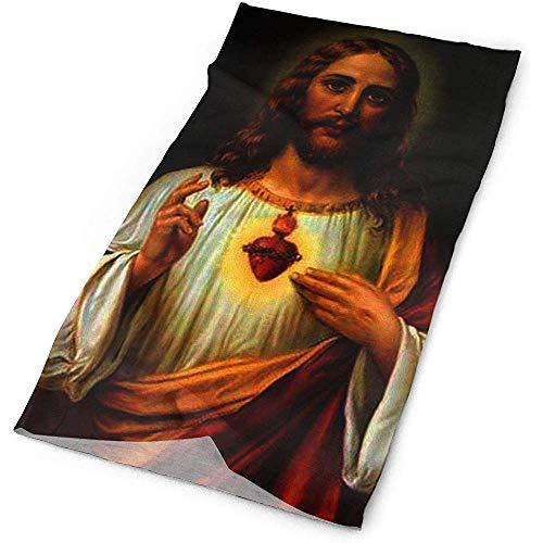 MJDIY 16-in-1 hoofdband, God Jezus sjaal hoofdband mode hals gamtas voor gym hardlopen