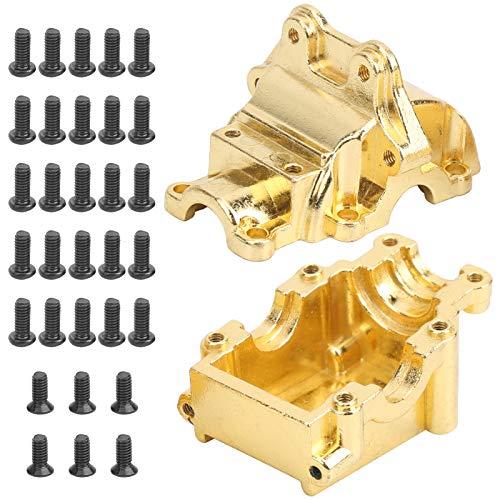 VGEBY RC Getriebe, Metall RC Getriebe Abdeckung Wave Box Differential Teile für Wltoys 144001 1254 Upgrade Zubehör
