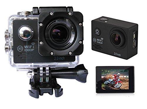 Sports HD DV Action Camera 2.0 inch GoldFish SJ7000 1080P WiFi 12MP Novatek Dashcam Waterproof