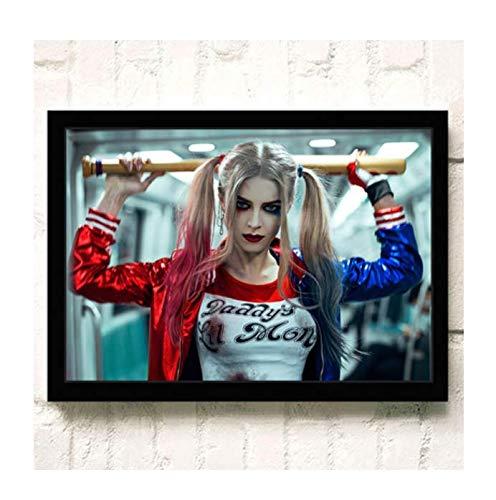 H/E Suicide Squad Poster Canvas Painting Home Decoration Rahmenlos 40X60Cmy2359