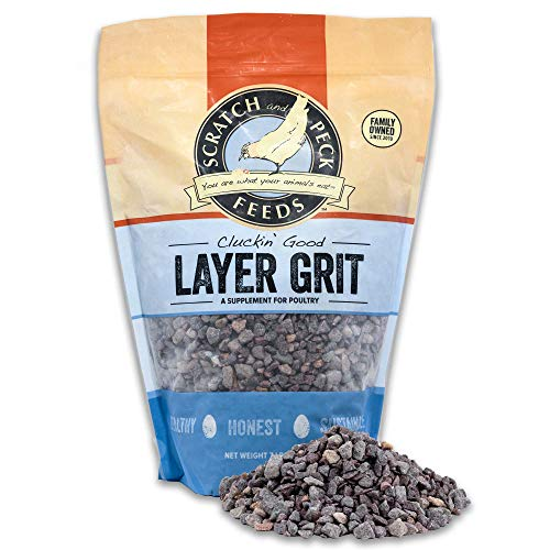 Scratch and Peck Feeds Cluckin' Good Layer Grit Supplement for Chickens and Ducks - 7-lbs - 9372-07