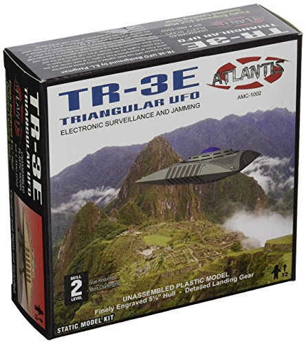 Triangular Anti Gravity UFO TR-3E Atlantis Model Company