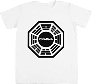 Dharma Initiative Unisexo Niño Niña Camiseta Blanco Todos Los Tamaños - Unisex Kids Boys Girls's T-Shirt White