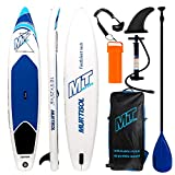 Murtisol 10'5'' Inflatable Stand Up Paddle Board(25in width) for skilled person, Ultra-thick Durable